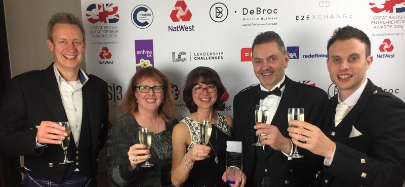 Great British Entrepreneur Awards 2016